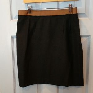 Ann Taylor black wool skirt size 12